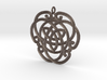"Celtic Pendant ""Aoibhneas""  (EEV-nass) 3d printed"