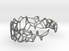 voronoi doubleshell cuff  3d printed