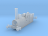 """OO Aveling Porter """"Blue Circle"""" Loco Body 3d printed"""