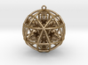 Star Tetrasphere with Nested Octuple Dorje 3d printed