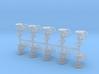 Globe valves (10pcs) 3d printed