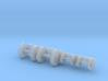 Hose Reel Large Functional 2 Sizes 1-87 HO Scale 3d printed