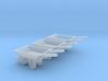 WheelBarrow HO Scale 3 Pack 3d printed