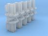 Safetran Signal Post Base (HO - 1:87) 10X 3d printed