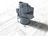 """1/128 Royal Navy Leander Class 6"""" Director 3d printed 3d render showing product detail"""