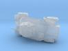 1/285th 39M Csaba armoured car 3d printed