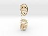 Bee Earrings V2.1 3d printed