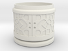 Gift Box round No. 1 with Mosaik-2 (solid, short) 3d printed