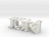 3dWordFlip: JON/PAYNE 3d printed