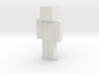 Paint Your Own Minecraft Skin 3d printed