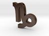 Capricorn Symbol Pendant 3d printed