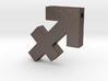 Sagittarius Symbol Pendant 3d printed