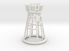 Hollow Chess Set - Rook 3d printed