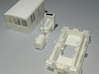 O Scale GE 23 Ton Box Cab Cab 3d printed Required Parts