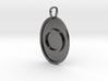 Omicron Medallion 3d printed