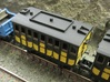 N Gauge Liverpool & Manchester Railway 1st Coach 3d printed N Gauge L&MR Coach assembled and painted.