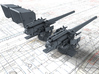 """1/144 6""""/45 (15.2 cm) BL Mark XII with Shield x2 3d printed 1/144 6""""/45 (15.2 cm) BL Mark XII with Shield x2"""