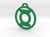 Green Lantern 3d printed