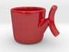 red espresso cup 3d printed
