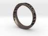 THIS TOO SHALL PASS MOBIUS RING LARGER SIZE 6mm 3d printed