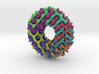 Möbius diamond lattice 3d printed