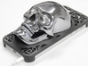 Skull iPhone 5 Case 3d printed ABS Plating and coating