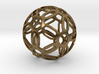 Symmetrical Pattern Sphere 3d printed