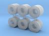Coil Stahlblech 6erSet - 1:120 TT 3d printed