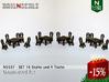 SET Thonet Nr.14 mit 16 Stühle und 4 Tische (N) 3d printed