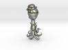 Derby The Octopus in a Bowler Hat Pendant 3d printed