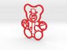 Personalised Teddy Bear - Alice 3d printed Personalised Teddy Bear - Alice