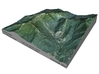 """Mount Mansfield / Stowe Mountain: 6"""" 3d printed"""