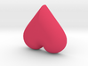 DIY Frebird Fridge Magnet - Mini Heart (negative) 3d printed
