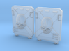Death Team : M2a Troop Tank Doors 3d printed