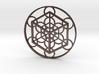 Metatron's Cube - Cube 3d printed