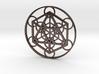 Metatron Cube - Icosahedron 3d printed