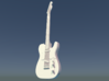 Fender Telecaster, Scale 1:6  3d printed