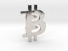 Bitcoin Tie Clip 3d printed