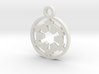 Galactic Empire Charm 3d printed