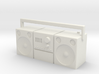 Scale 1/10 radio, cassette player, old type 3d printed