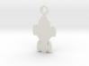 Raza Silhouette Charm 3d printed