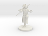 Gold Dragonborn male Monk 3d printed