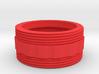 Coupler for Nebo REDLINE LED Flashlight - Bumpy 3d printed