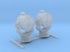"1/96 Royal Navy 44"" Searchlight x2 3d printed 1/96 Royal Navy 44"" Searchlight x2"