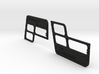 Ford Bronco door inserts by TrailScaleRC 3d printed