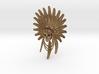 Indian Chief: Skull Pendant 3d printed