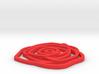 Rose pendant 3d printed