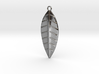 The Palm Leaf Pendant 3d printed