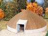 Salt Dome - Zscale 3d printed Painting and photo by Jeff King