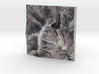 """Mount Mansfield / Stowe Mountain - Winter: 6"""" 3d printed"""